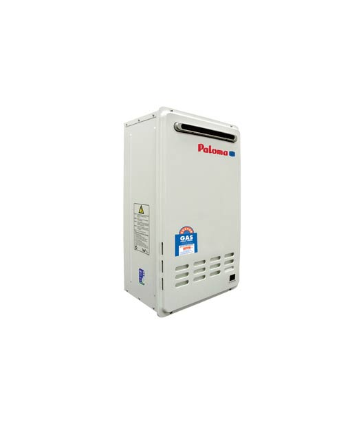 External Paloma Continuous Flow Gas Water Heater – PH-26CWH