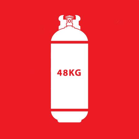 48Kg LPG Gas (Exchange)