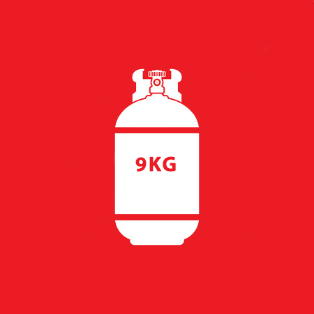 9Kg LPG Gas (Exchange)